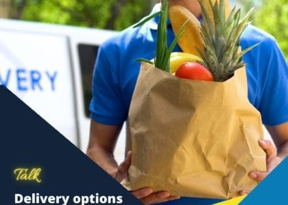 Understand delivery options for your online store